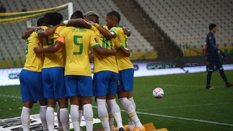 Brasil goleó 5-0 a Bolivia en las Eliminatorias