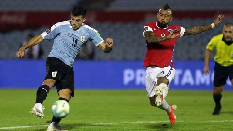 Uruguay venció a Chile en la Jornada 1 de la Eliminatorias