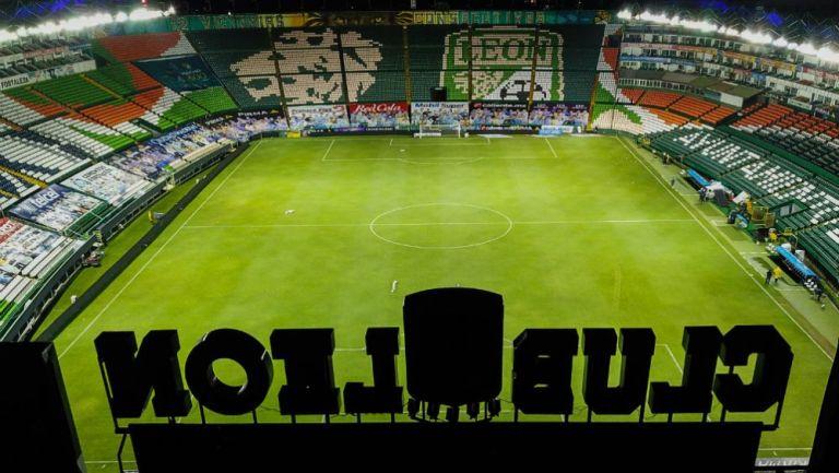Estadio León previo a un partido