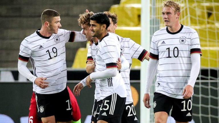Alemania en partido amistoso