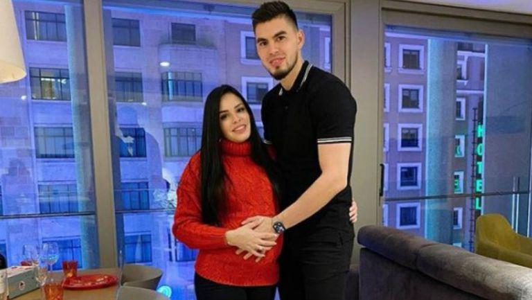 Futbolista venezolano pudo conocer a su hija de 7 meses de nacida