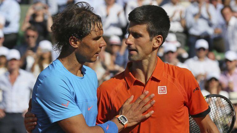 Nadal felicita a Djokovic por el triunfo