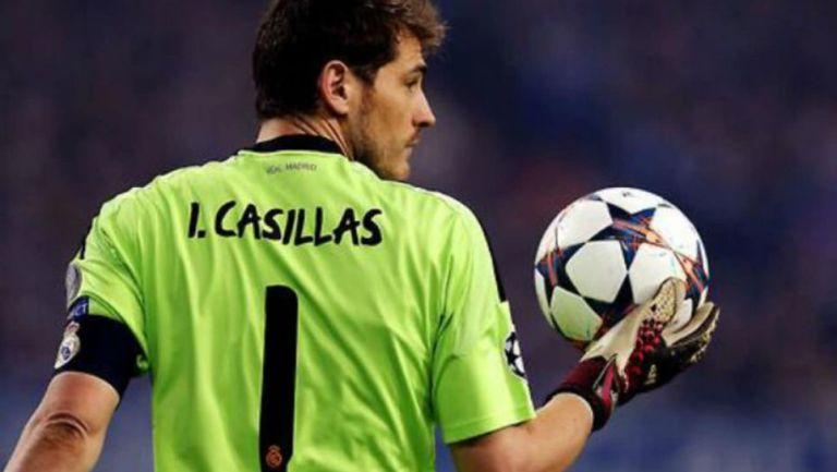 Iker Casillas con el Real Madrid