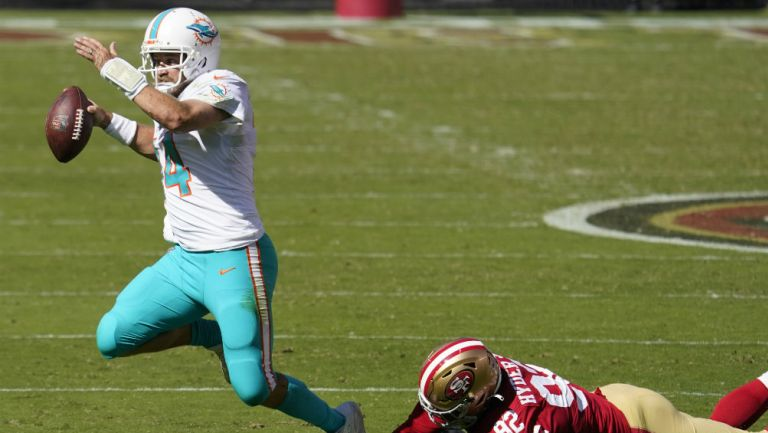 NFL: Miami derrotó a San Francisco de la mano de Ryan Fitpatrck
