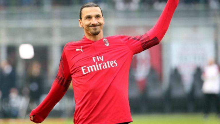 Milan: Zlatan Ibrahimovic volvió a entrenar después de dar positivo a Coronavirus