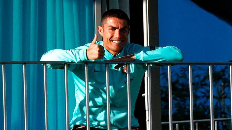 Fernando Santos: 'Cristiano Ronaldo está bien y sólo quiere jugar'