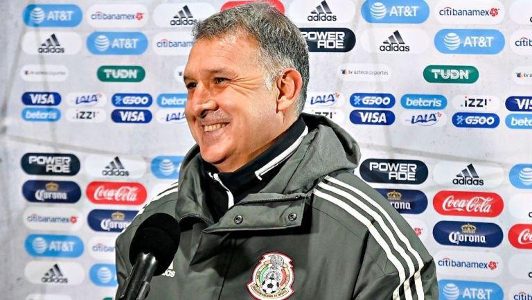 Gerardo Martino, técnico del Tri