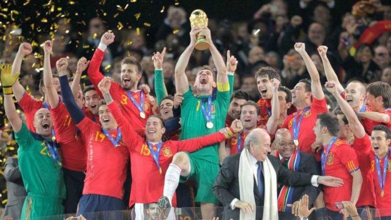 España Campeón del Mundo en el 2010