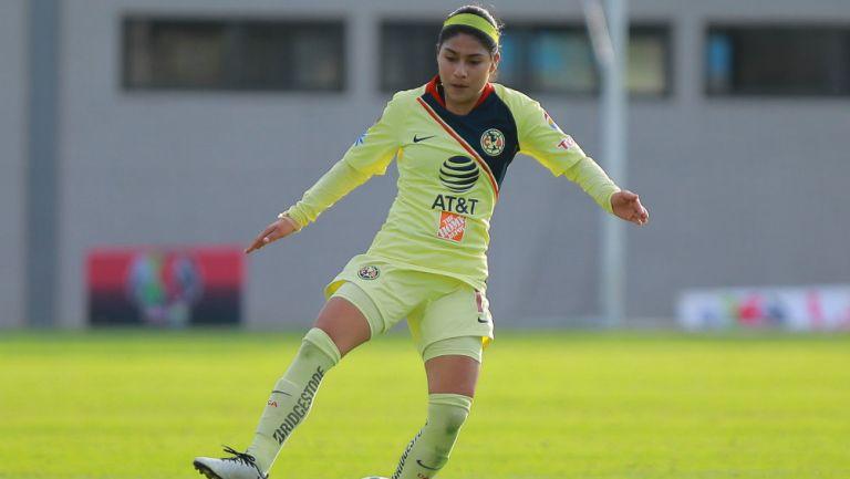 Liga MX Femenil: Eleisa Santos de América pasó de reportera a futbolista