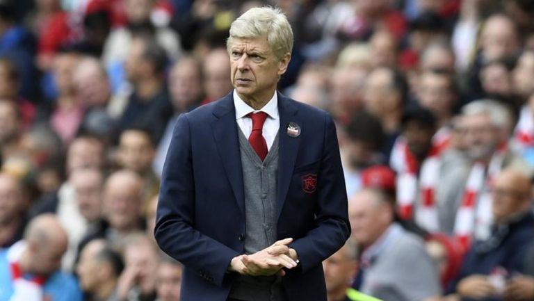 Arsene Wenger durante su paso por el Arsenal
