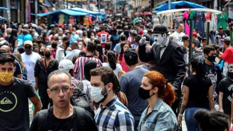 Calles de Brasil donde el número de contagiados sigue en aumento