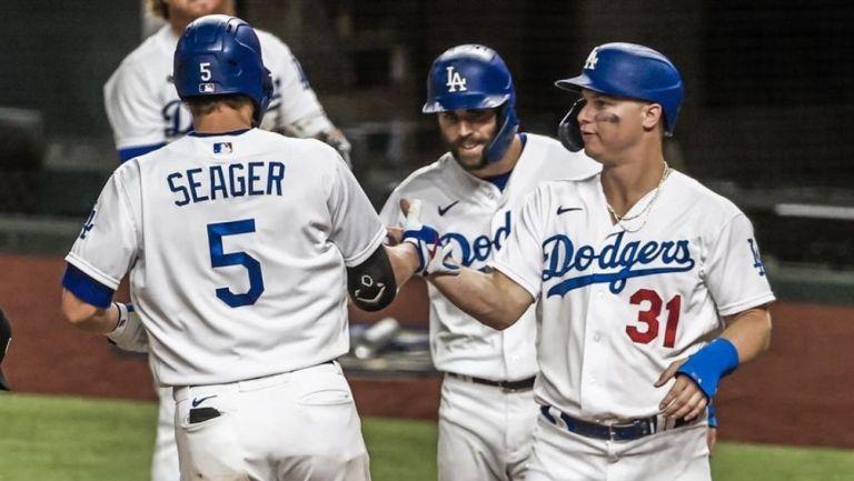 Dodgers logró 11 carreras en su primer entrada