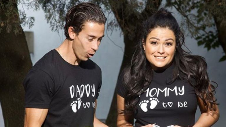 Jiménez y Echeverria se convirtieron en padres