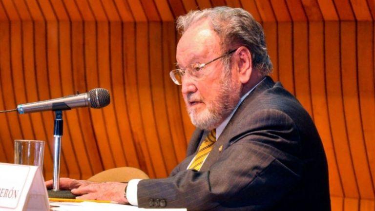 Guillermo Soberón, exrector de la UNAM