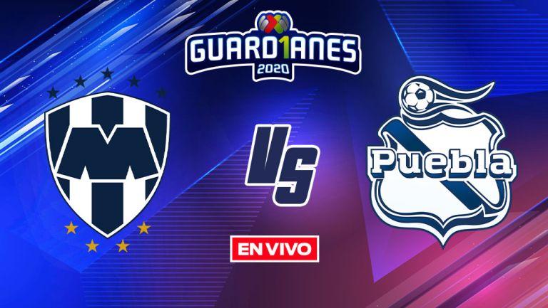EN VIVO Y EN DIRECTO: Monterrey vs Puebla Guardianes 2020 J14