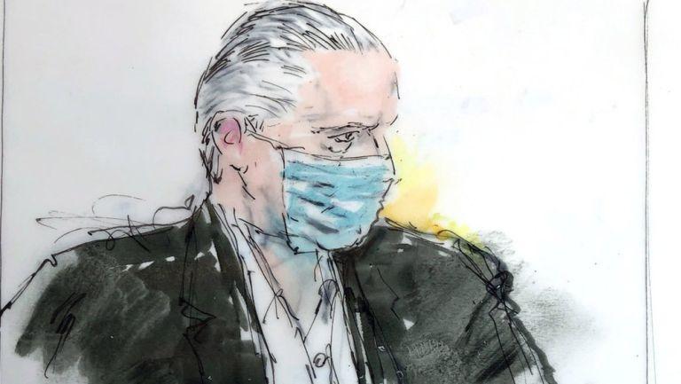 Salvador Cienfuegos Zepeda, aparece en la corte federal