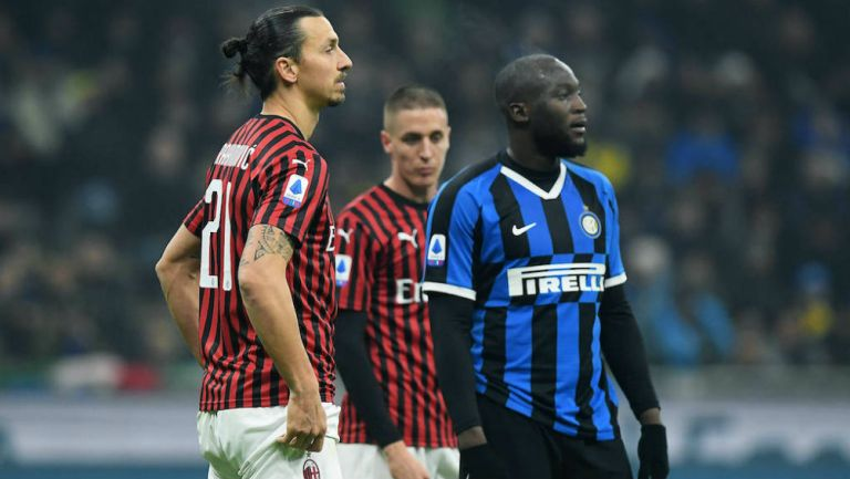 Milan vs Inter en partido