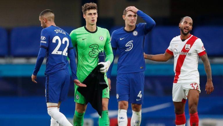 Ziyech, Kepa, Christensen y Walcott luego del empate en un último minuto