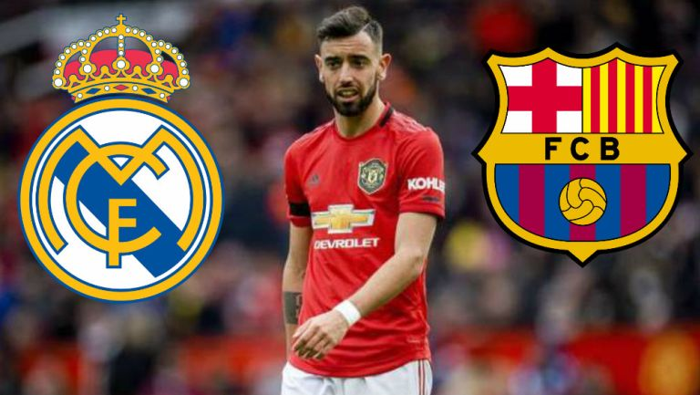 Real Madrid y Barcelona: Bruno Fernandes en la mira de los grandes de España
