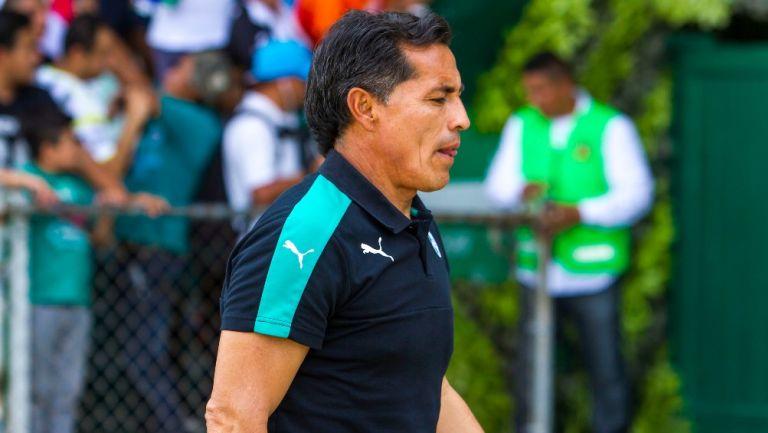 Benjamín Galindo, exauxiliar técnico en Santos
