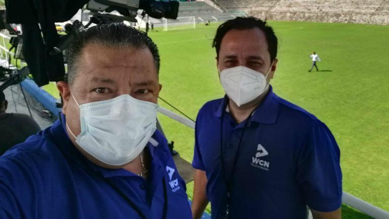 Daniel Rentería y César Martínez