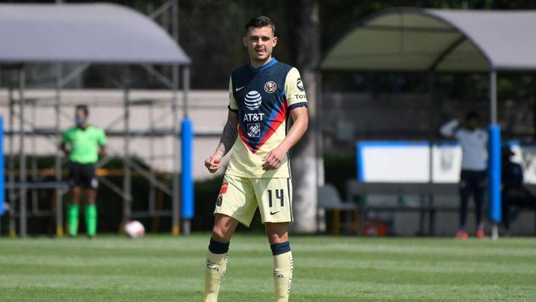Nicolás Benedetti agradeció las muestras de apoyo tras su lesión — América