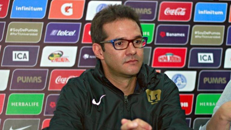 Antonio Sancho en su etapa con Pumas