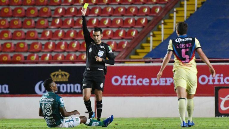 César Arturo Ramos en el León vs América