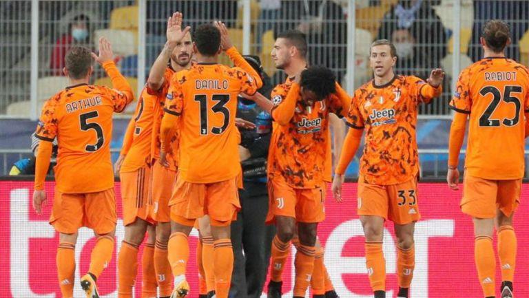 Champions League Juventus Derroto Al Dynamo Kiev Con Doblete De Alvaro Morata Record