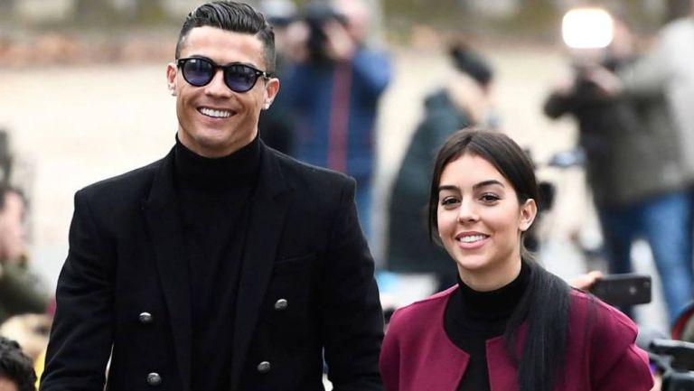 Cristiano y Georgina Rodríguez