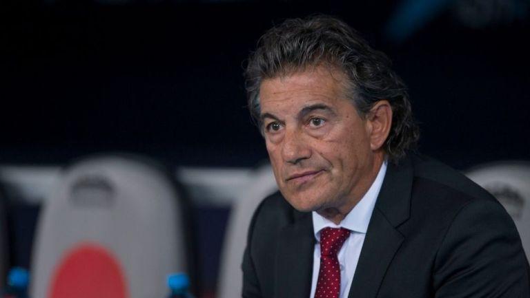 Rubén Omar Romano durante un partido