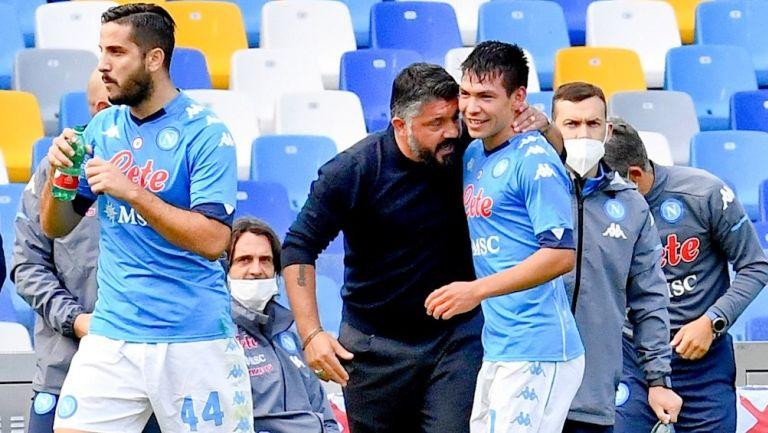 Gennaro Gattuso reconoce que extraña al Chucky Lozano de cara a su juego ante Granada