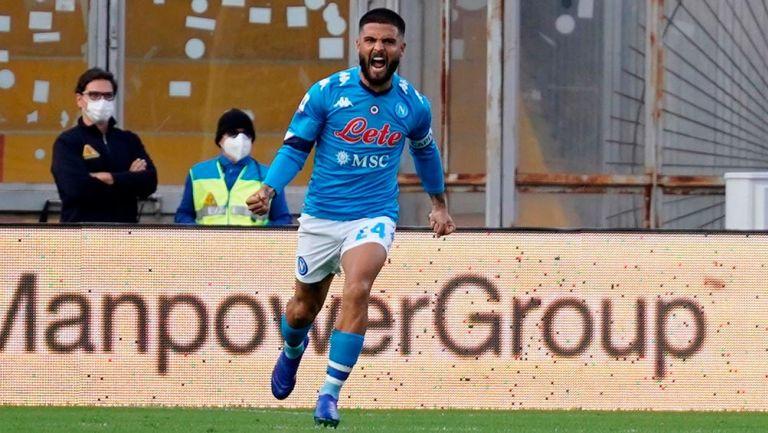 Chucky Lozano: Napoli remontó para vencer al Benevento