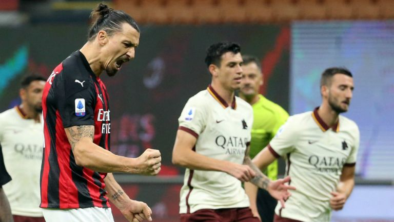Milan: Igualó en casa ante la Roma, pero mantiene el liderato de la Serie A