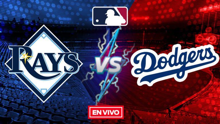 EN VIVO Y EN DIRECTO: Rays vs Dodgers Juego 6