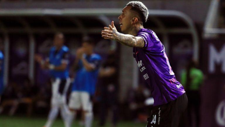 Martín Rodríguez durante un partido con Mazatlán FC