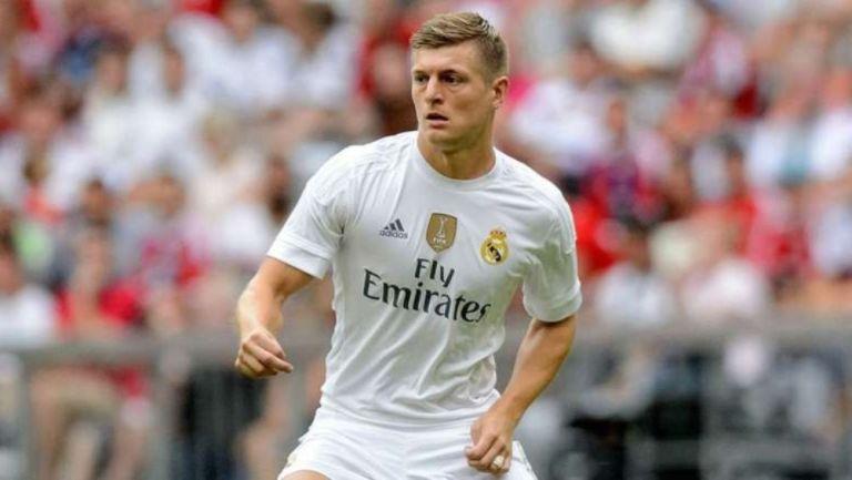 Toni Kroos en un partido con el Real Madrid