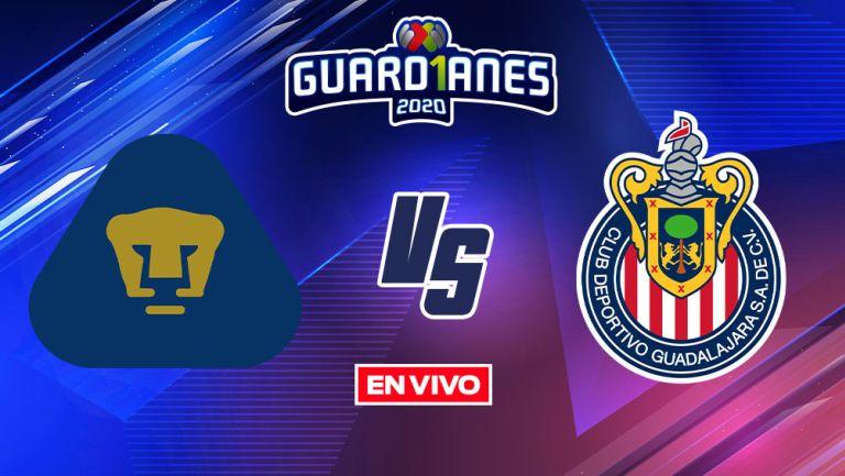 EN VIVO Y EN DIRECTO: Pumas vs Chivas Apertura 2020 J16