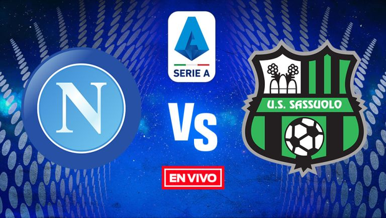 EN VIVO Y EN DIRECTO:  Napoli vs Sassuolo Jornada 6
