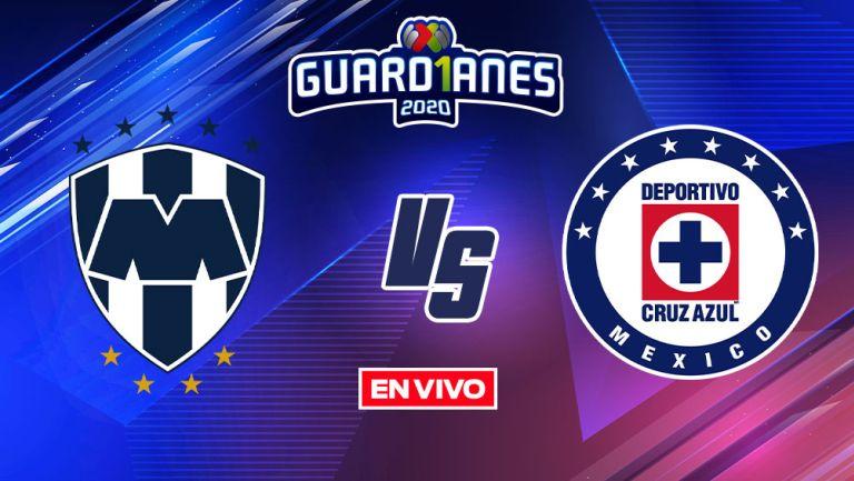 EN VIVO Y EN DIRECTO: Monterrey vs Cruz Azul Apertura 2020 J16