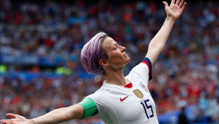 Megan Rapione con la Selección Femenil de Estados Unidos