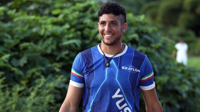 Yusef Farah en competición