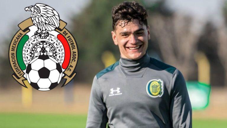 Selección Mexicana: Luca Martínez, jugador de Rosario Central, fue convocado por la Sub 20