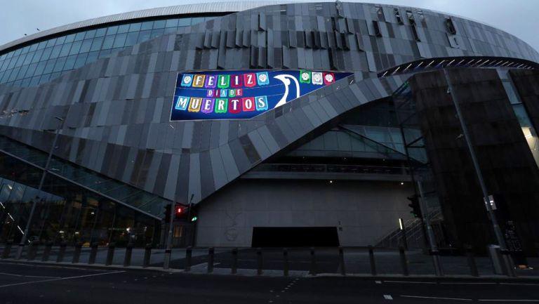 Tottenham Hotspur Stadium conmemora el 'Día de Muertos'