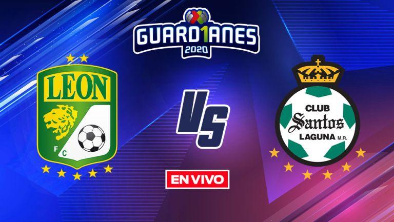 EN VIVO Y EN DIRECTO: León vs Santos Guardianes 2020 J16