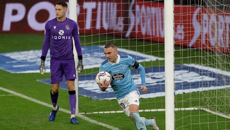 Real Sociedad goleó 1-4 al Celta de Vigo