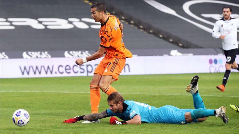 Cristiano Ronaldo, tras victoria de la Juventus ante el Spezia: 'Ha vuelto el Cris de siempre'