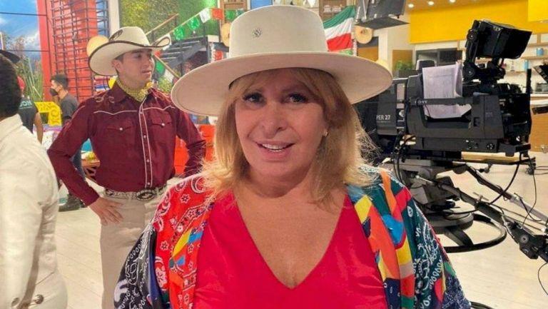Magda Rodríguez en programa Hoy