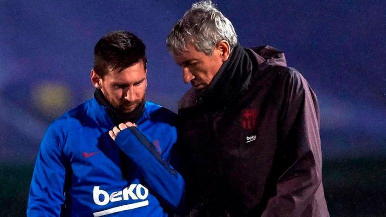 Quique Setién: 'Messi no es un jugador fácil de gestionar' | RÉCORD