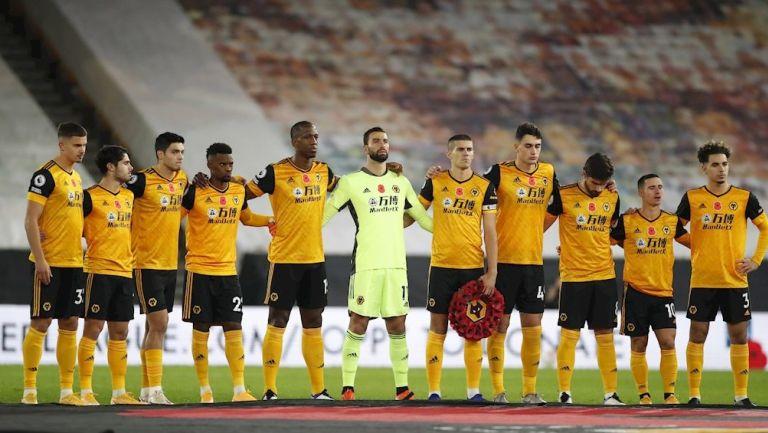 Wolves previo a un partido de Premier League